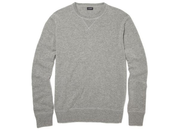 J.Crew Cashmere Crew Neck Sweatshirt