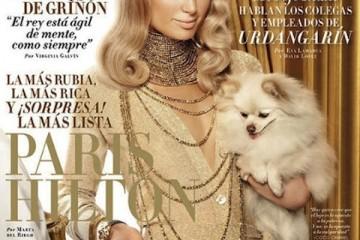 Paris Hilton for Vanity Fair Spain