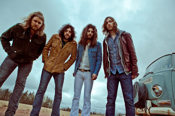 Samsung presents The Sheepdogs Yonge Dundas Square