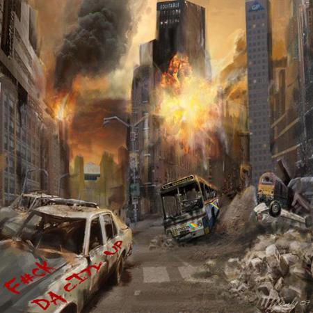 T.I. fuck-da-city-up-Album cover