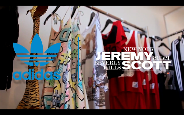 best service 6b611 568a0 adidas Originals and Jeremy Scott take us behind-the-scenes on their  Spring Summer 2012 ...