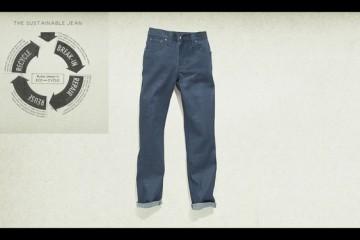 Barneys NYC x Nudie Jeans Post Recycle Dry Denim