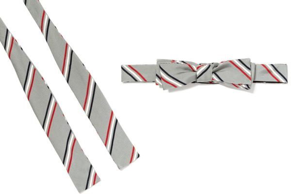 Classic Triple Stripe Bow Tie