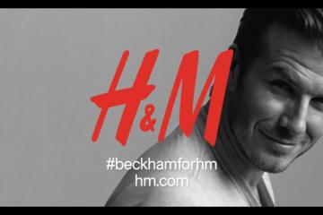 David Beckham Bodywear H M Commercial