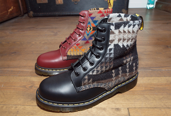 dr martens x pendleton fall winter 2012 preview. Black Bedroom Furniture Sets. Home Design Ideas