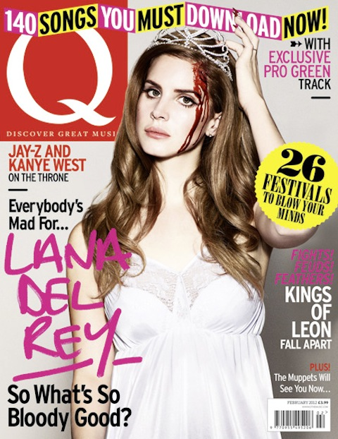 Lana Del Rey For Q Magazine February 2012 Sidewalk Hustle