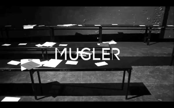 Mugler Fall Winter 2012 Runway Film Exclusive Track Azealia Banks