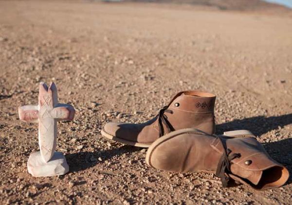 Steven Harrington x Generic Surplus Deser Boots
