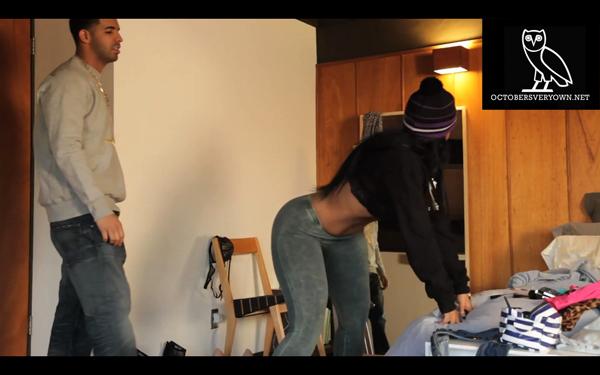 Drake Practice Booty Video