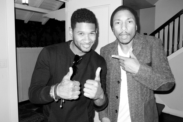 Terry Richardson Usher Pharrell Williams