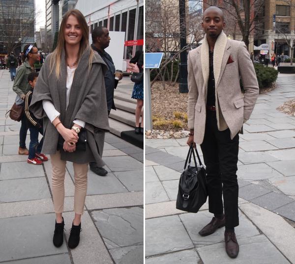 Toronto Fashion Week Street Style Fall Winter 2012