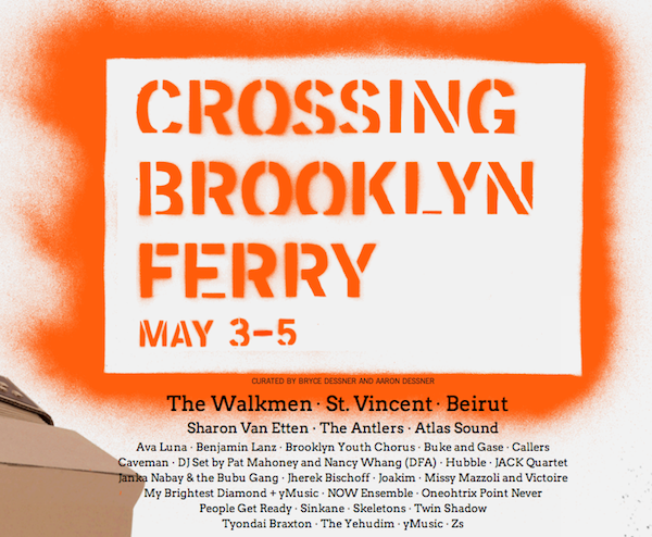 Crossing Brooklyn Ferry Festival 2012