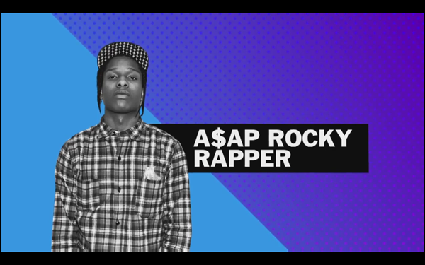 Fashion Television Interviews ASAP Rocky At Community 54 Toronto