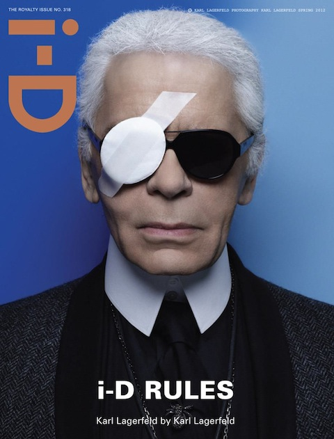 Karl Lagerfeld for i-D Magazine Spring 2012
