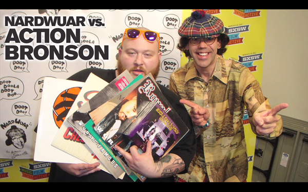 Nardwuar vs Action Bronson