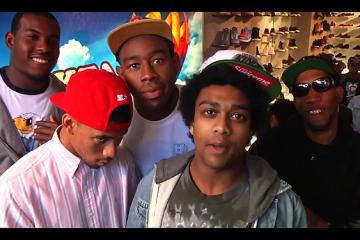 Odd Future Tour 2012 Toronto PopUp Shop Show