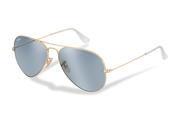 blue ray ban aviators 2017