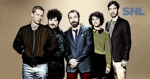 The Shins perform on Saturday Night Live