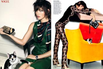 Arizona Muse for Vogue US May 2012