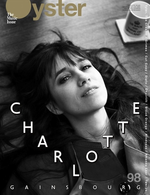 7485657f8641 Charlotte Gainsbourg for Oyster Magazine April 2012