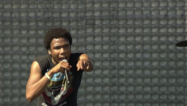 Childish Gambino at Coachella 2012