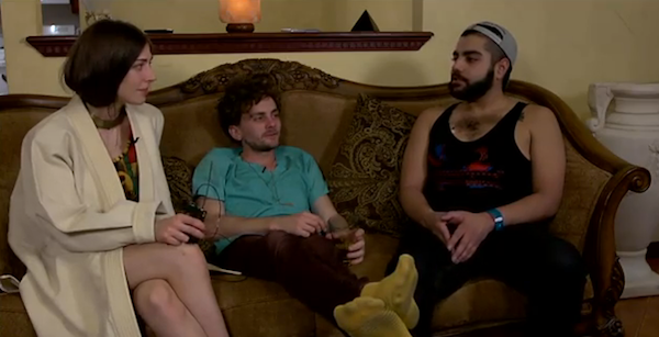 Das Racist Interviews Chairlift