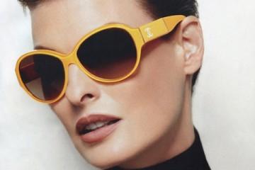 Linda Evangelista for Chanel Eyewear Spring Summer 2012