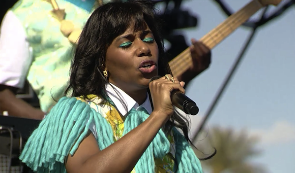 Santigold at Coachella 2012