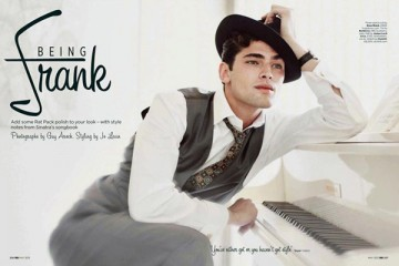 Sean O Pry Being Frank for GQ UK May 2012