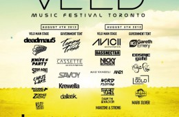 VELD Music Festival Toronto Deadmua5 Avicii Knife Party Bassnectar