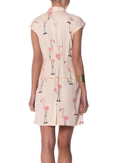 Must Have Vero Moda Miami Flamingo Print Dress
