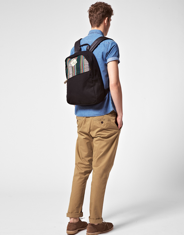 ASOS Navajo Panel Backpack - Bodyshot
