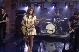 Best Coast performs The Only Place on Letterman
