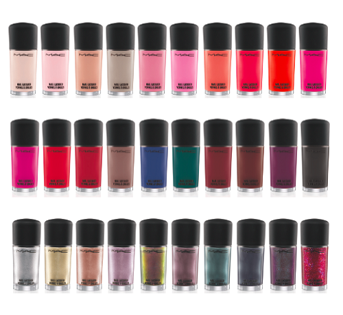 MAC Permanent Nail Lacquer Collection