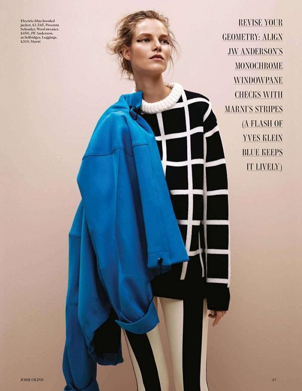 Suvi Koponen for British Vogue by Josh Olins | Sidewalk Hustle