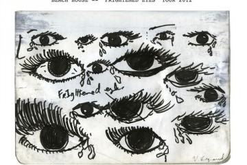 Beach House Frightened Eyes 2012