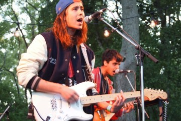 Dusted & Smith Westerns at JanSport Bonfire Sessions NXNE 2012