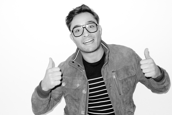 Ed Westwick shot by Terry Richardson