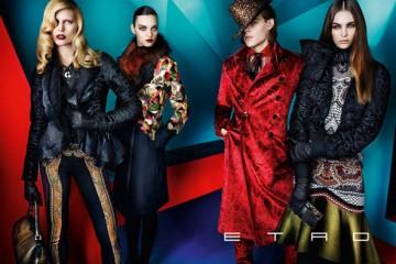 Etro Fall Winter 2012 Ad Campaign