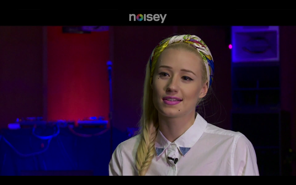 Noisey Iggy Azalea discussing TI Azealia Banks & Modelling