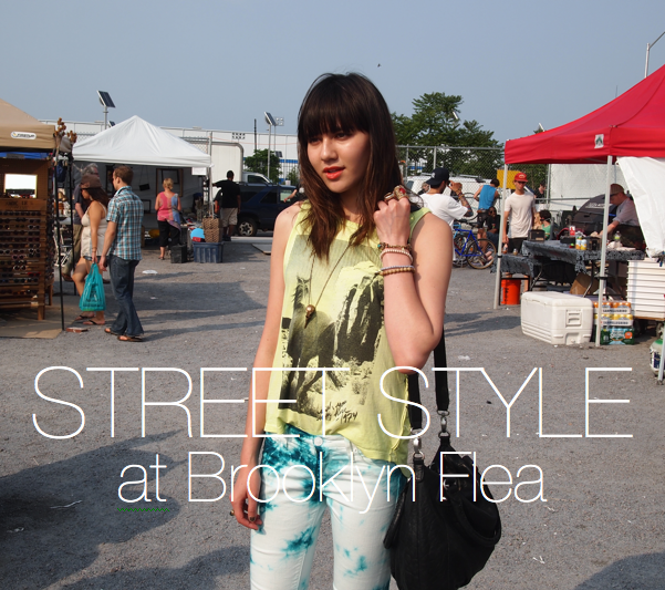 Street Style Brooklyn Flea Williamsburg