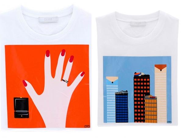 Prada x Vahram Muratyan 'Parallel Universes' T-shirt ...