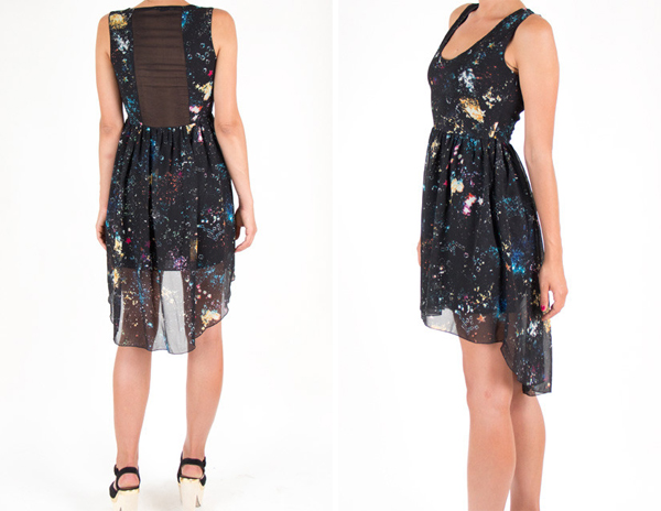 Must have nowhereland cosmic dress sidewalk hustle for Cosmic pattern clothing