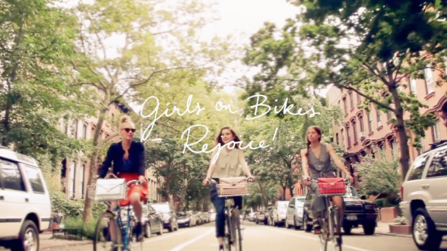 Loeffler Randall Girls on Bikes