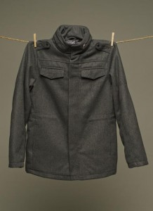Triumph Parka Uniform Standard Charcoal Grey Lifetime Collective Uniform Standard Fall-Winter 2012