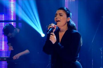 Jessie War on Jools Holland