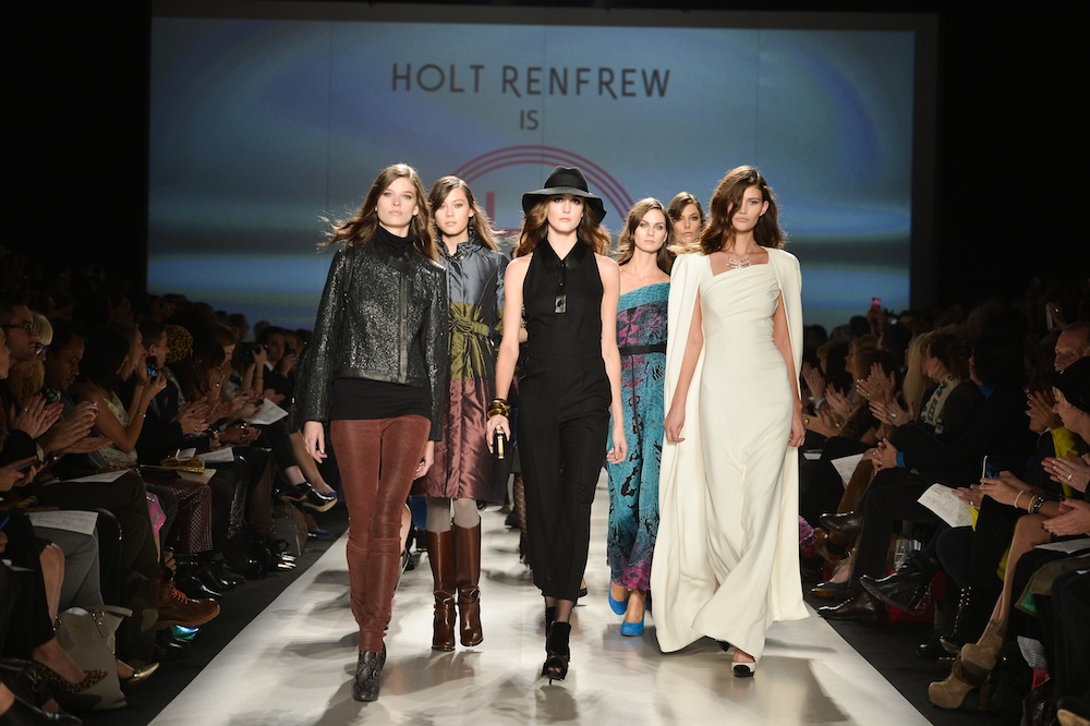 Toronto Fashion Week Holt Renfrew Hot At 175 Sidewalk