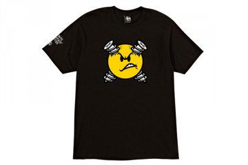 Stussy Toronto Screwface Chapter Collection Black T-Shirt