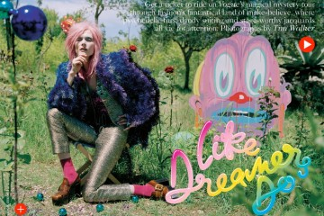 Malgosia Bela for Vogue UK December 2012