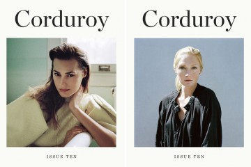 Yasmin LeBon Maggie Rizer Corduroy Magazine Issue Ten